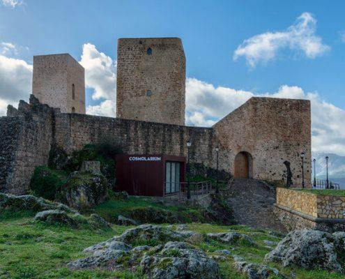 Cosmolarium en Castillo de Hornos de Segura