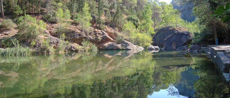 Piscinas Naturales en el Parque Natural de Cazorla